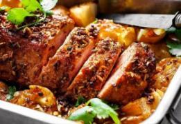 Рецепты Мяса запечённого