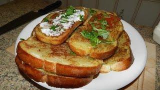 Горячие Бутерброды с Картошкой!