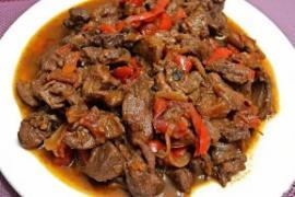 Рецепты Мяса тушёного